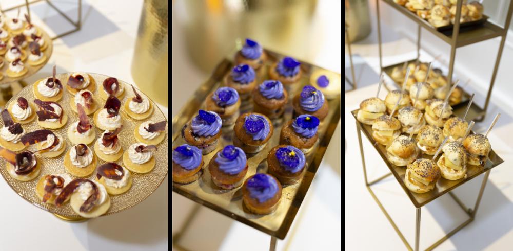 Design culinaire, création buffet Hoplastudio pour Shiseido