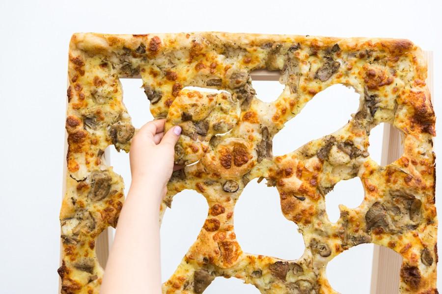 détail tableau pizza