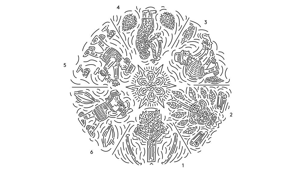schéma dessin transformation du cacao