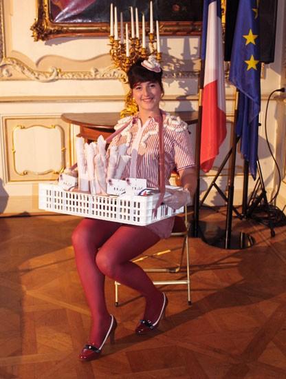 miss boudin à l'ambassade