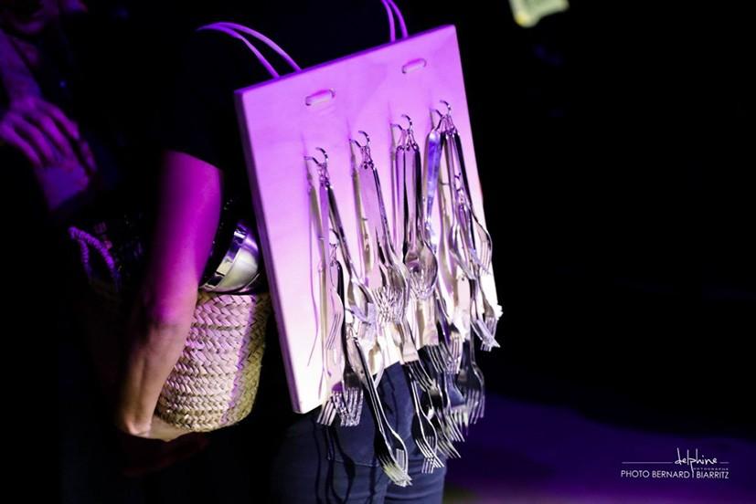 sac à dos fourchette